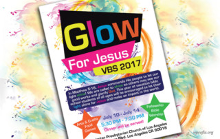 vacation bible school - youth activities. Westminster presbyterian church of Los Angeles