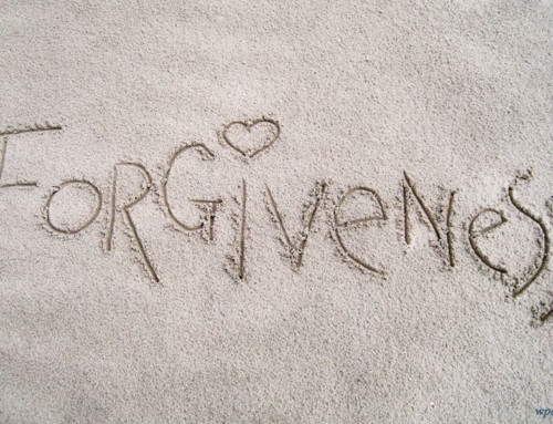 MINISTERS MESSAGE ON FORGIVENESS
